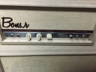 Bonser amp closeup