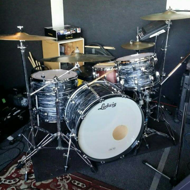 Danny King's Ludwig kit