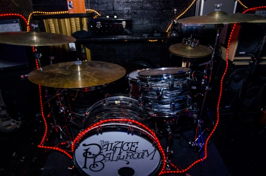 The Ludwig in action at the Casbah. Photo by Tim Fears