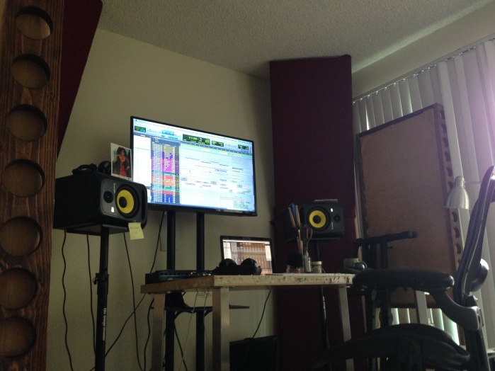 Mix Room:Set up