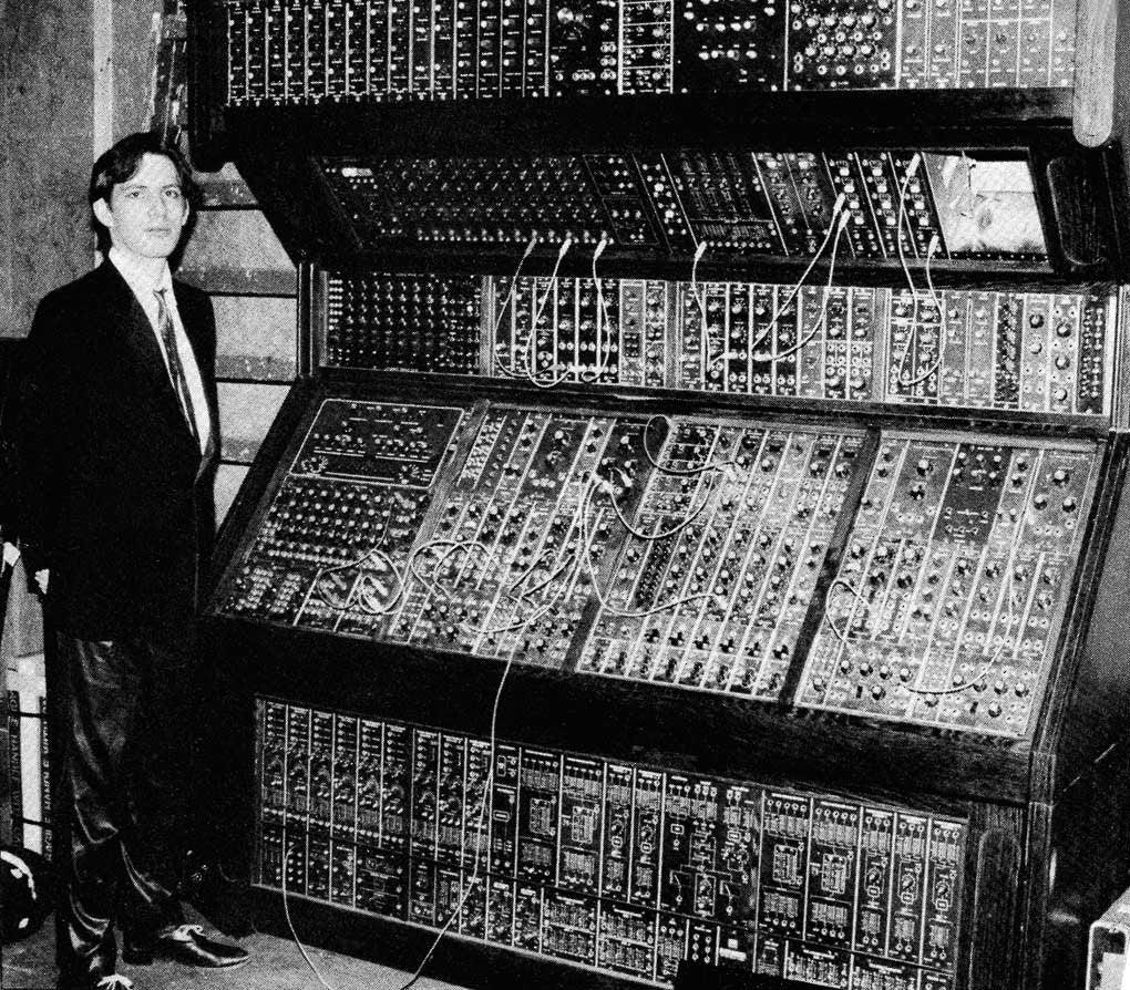 Hans Zimmer Moog Modular